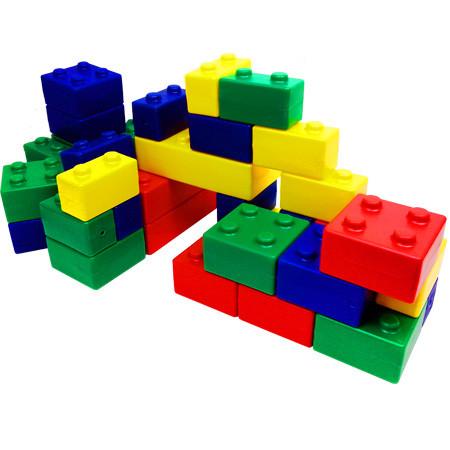 Bloques grandes tipo lego pl stico tiendita as me - Piezas lego gigantes ...