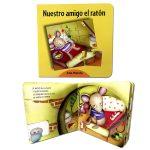 LIBRO NUESTRO AMIGO EL RATON - CON PUZZLE